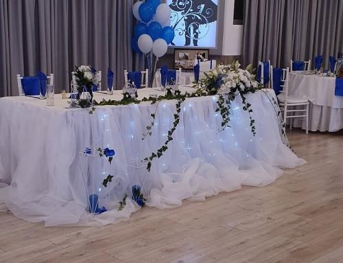 22.08.2019г Сватба в синьо